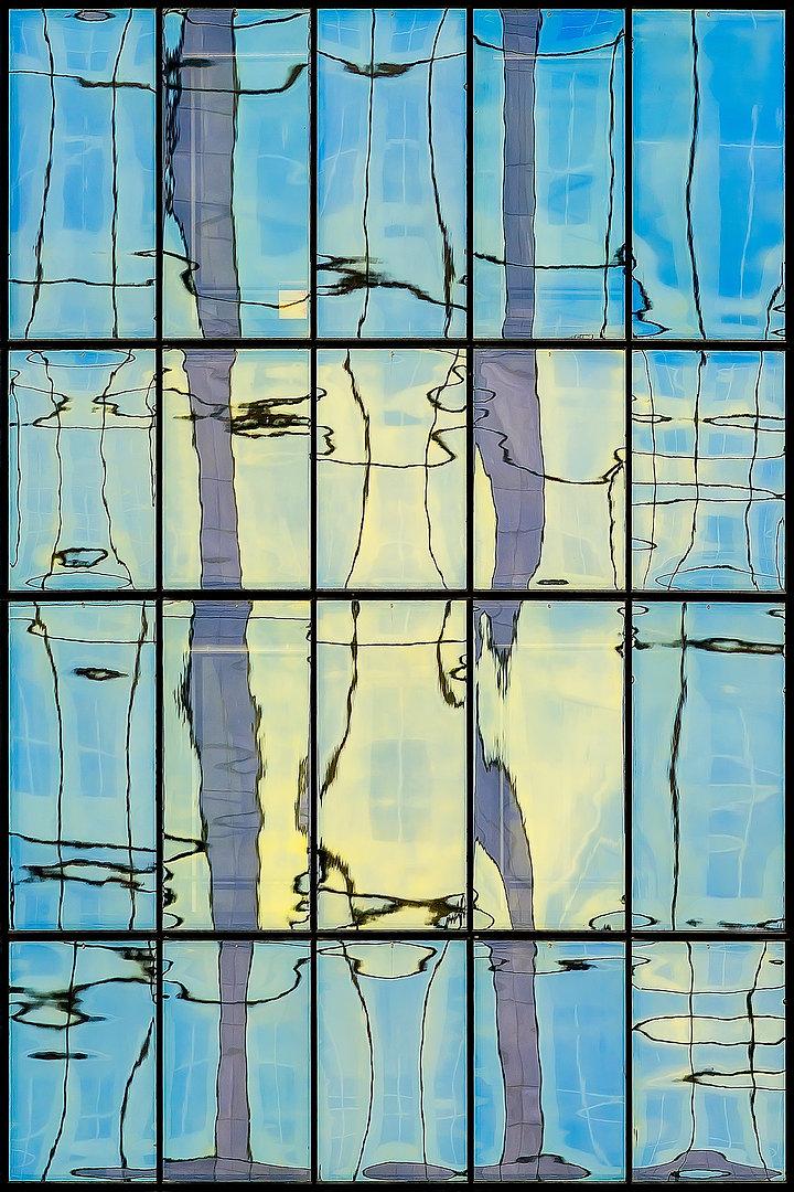 RÉFLEXION Nº 74  Photographie d'art grand format par Denis Eugène Robert sur TRAGART