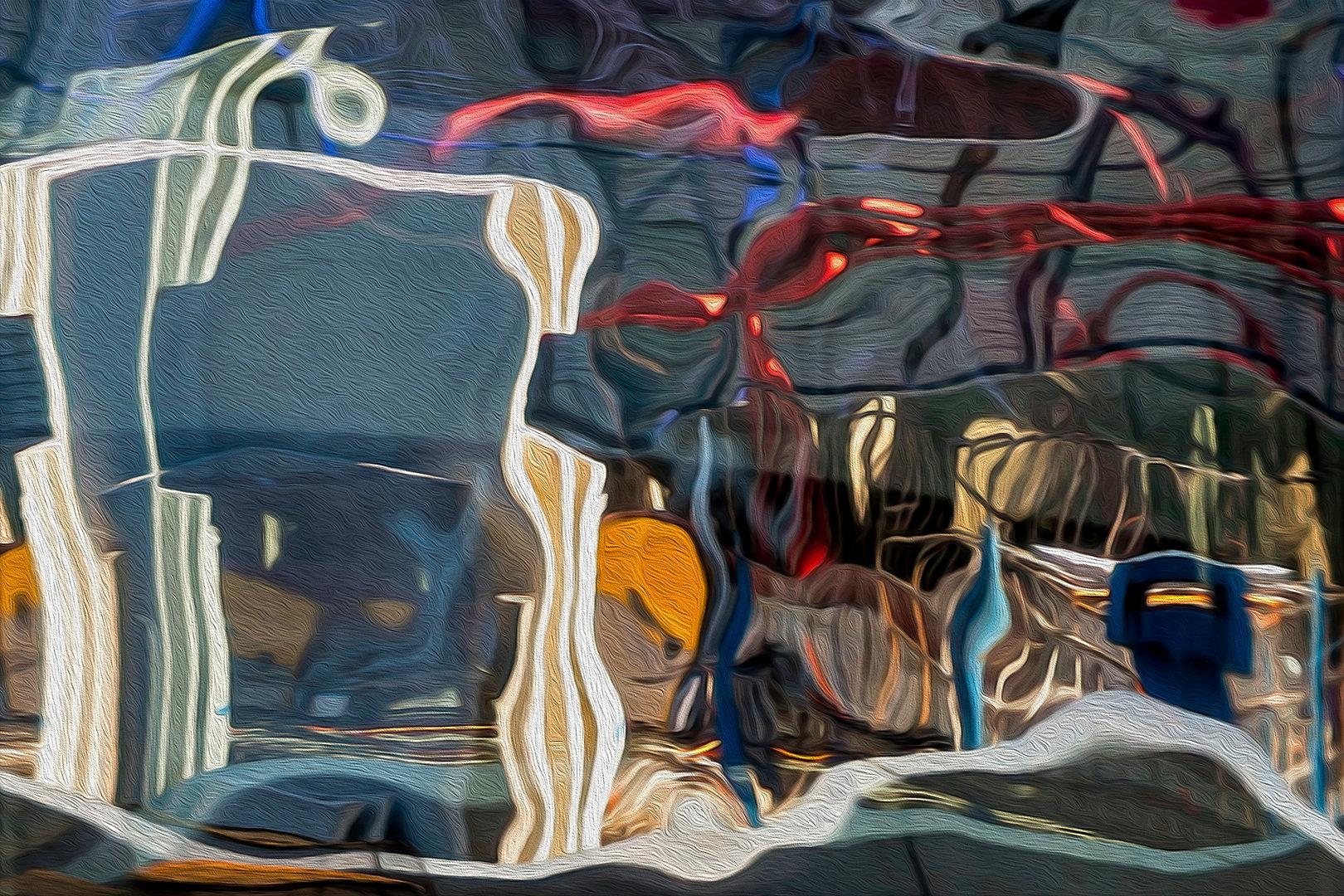 RÉFLEXION Nº 67  Photographie d'art grand format par Denis Eugène Robert sur TRAGART