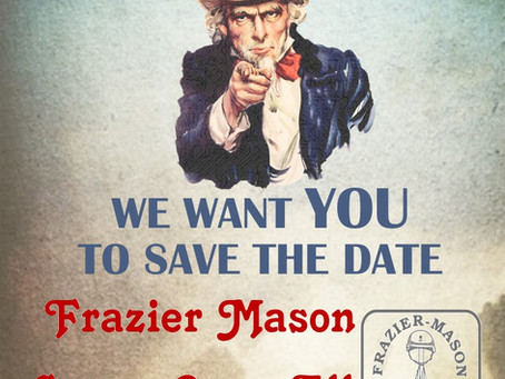 Save the Date - 31 May 2020