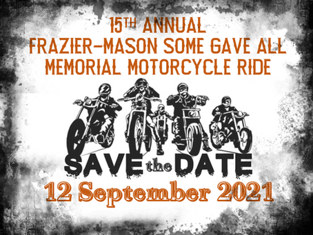 Save the Date - 12 September 2021