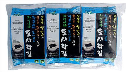 Seasoned & Roasted Seaweed Snack Size 3 Pack