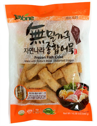 Frozen Fish Cake-Pollock Meat-Assorted Shapes
