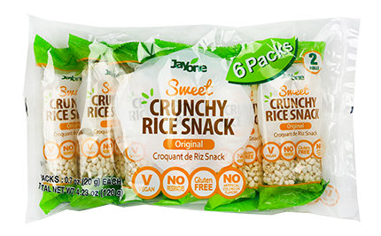 Crunchy Rice Snack- Original(2Rolls)