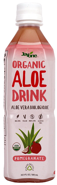 USDA Organic - Aloe Drink - Pomegranate