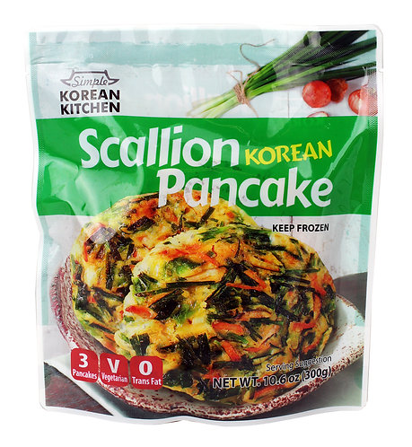 Korean Kitchen Scallion Pancake - Pa Jeon