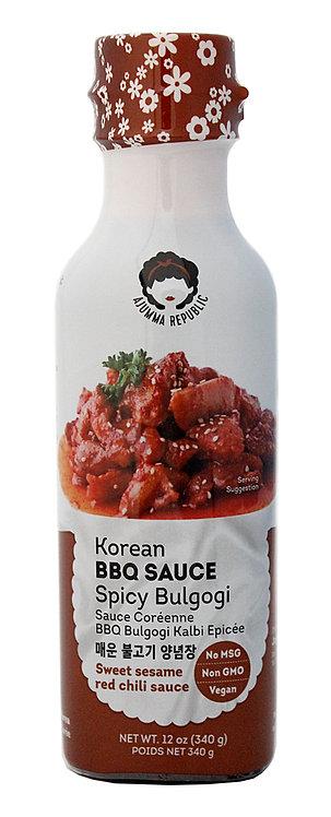 Korean BBQ Sauce - Spicy Sweet Sesame Chili