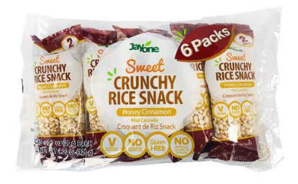 Crunchy Rice Snack- Honey Cinnamon(2Rolls)