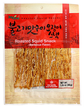 Roasted Squid Snack(BBQ Flavor)