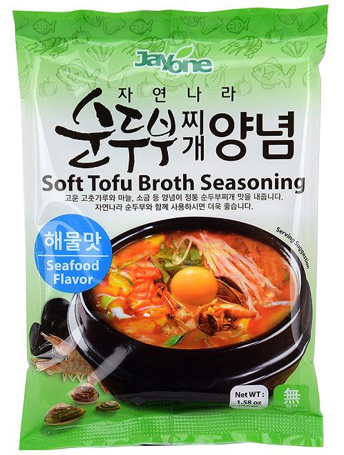 Jayone Tofu Broth Seasoning - Seafood Flavor