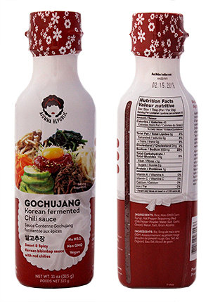 Korean Fermented Chili Sauce (Gochujang)