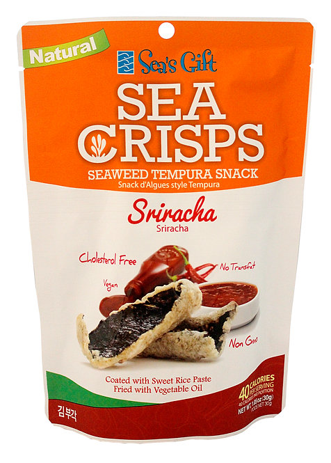 Seaweed Crisps - Sriracha