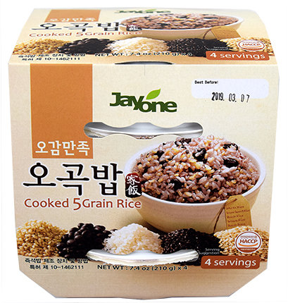 Jayone Cooked 5 Grain Rice