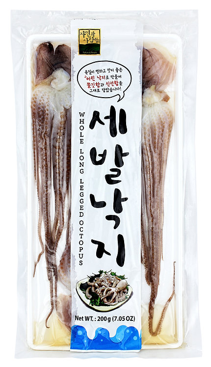 Frozen Long-legged Octopus-Whole