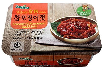 Seasoned & Fermented Squid Strip