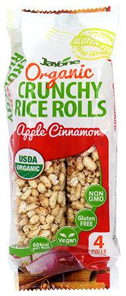 Organic Crunchy Rice Rolls - Apple Cinnamon