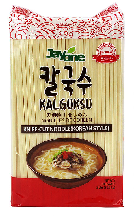 Jayone Dried Noodle(Korean Style Knife-Cut)