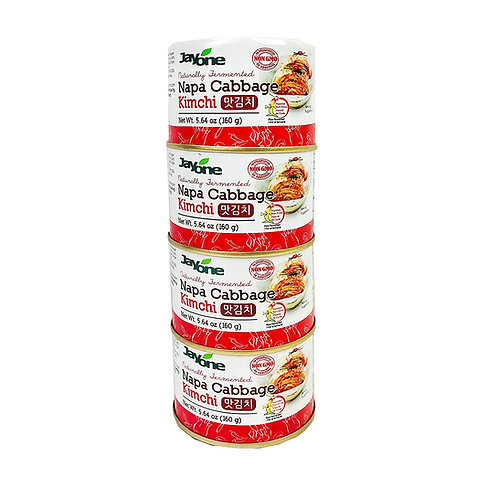 Jayone Canned Kimchi-4Pack