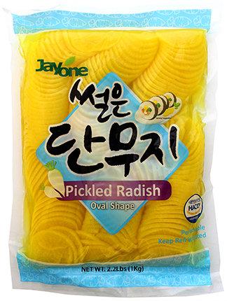 Picked Radish-Sliced