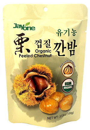 Organic Peeled Chestnut