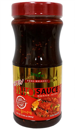 Korean BBQ Sauce-Spicy 2.1 LBS