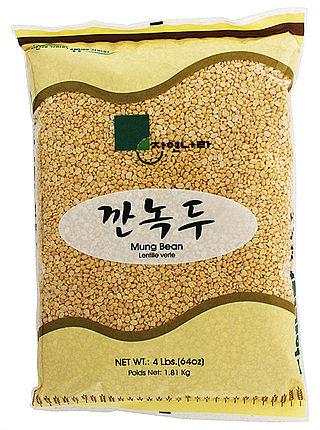 Peeled Mung Bean 4 LBS