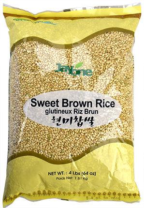 Sweet Brown Rice 4 LBS