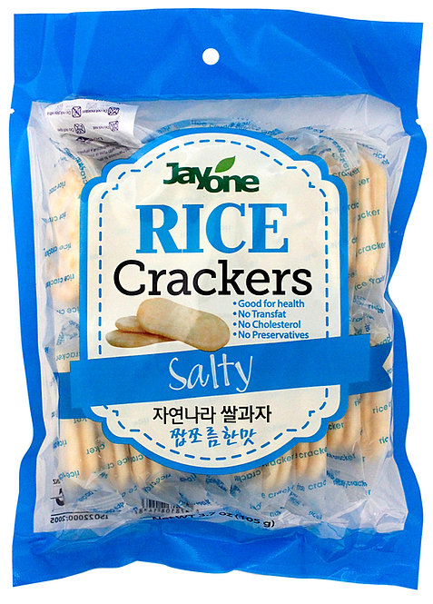 Jayone Rice Crackers - Salty