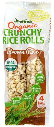 Organic Crunchy Rice Rolls - Brown Rice