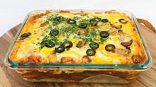 Kimchi Tofu Lasagna