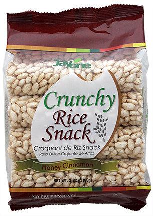 Crunchy Rice Snack - Honey Cinnamon