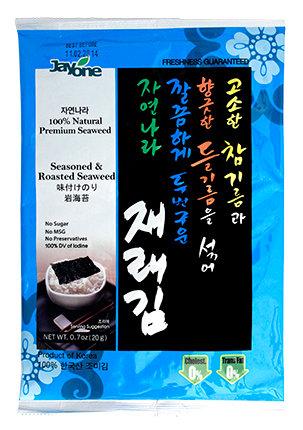 Seasoned & Roasted Seaweed Full Size/4Pack