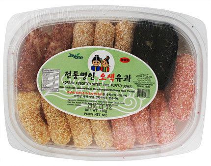 Korean Sweet Rice Puffs (Yugwa) - Assorted