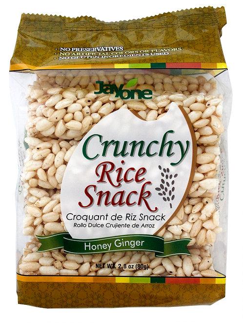 Crunchy Rice Snack - Honey Ginger