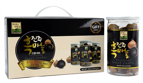 Fermented Pearl Garlic 3 Pack Giftbox