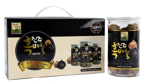 Fermented Pearl Garlic 3 Pack Giftbox