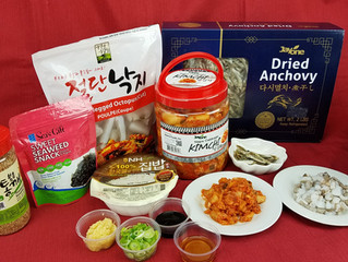 Octopus Kimchi Porridge