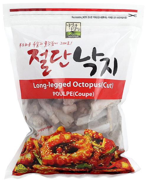 Frozen Long-Legged Octopus(Cut)