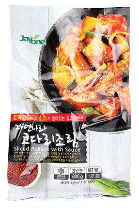 Sliced Pollack w/Seasoning Sauce