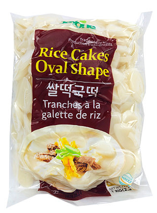Rice Cakes-Sliced Oval Shape