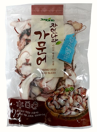 Seasoned & Dried Squid Leg Slices