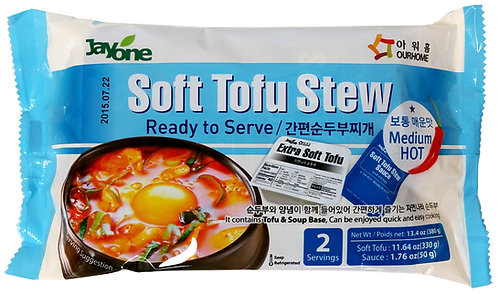 Jayone Soft Tofu Stew - Medium Hot