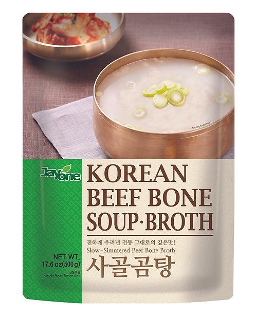 Korean Beef Bone Soup Broth
