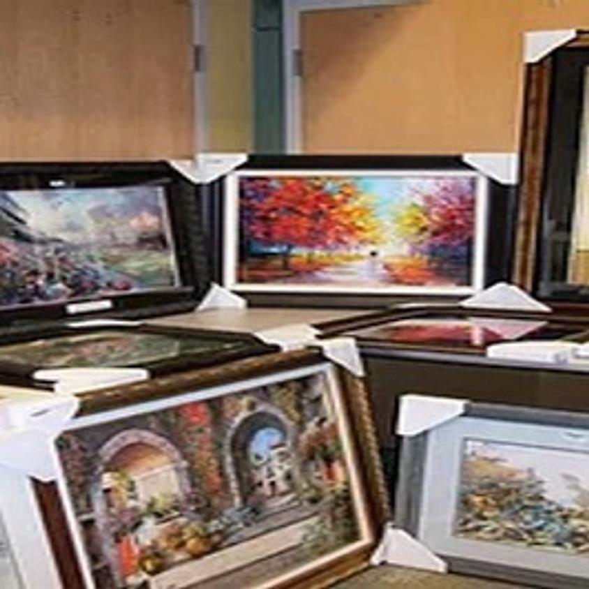 Virtual Art Auction Preview - Pick your Artist