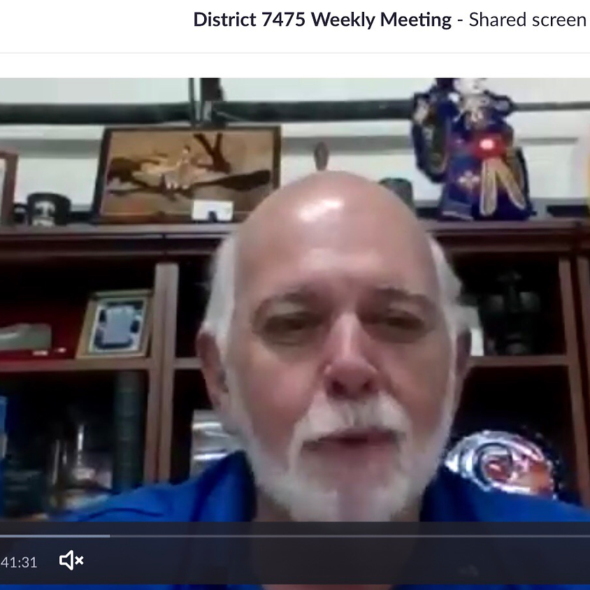 District 7475 Meeting with Past Rotary International President Barry Raskin
