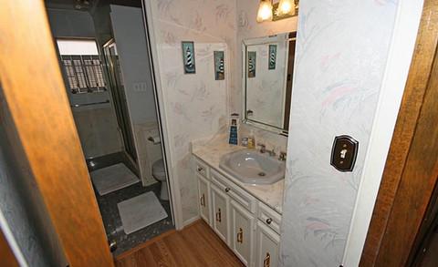 Master Bath (Living Room Enterance)- Before