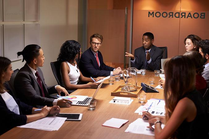 Board Meeting - Depositphotos_140440058_