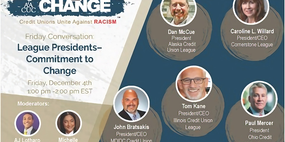 AACUC Commitment To Change Friday Conversation / League Presidents - Commitment to Change