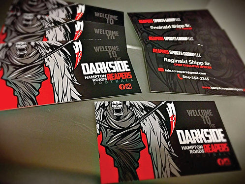 Business Cards (Design and HD Print)