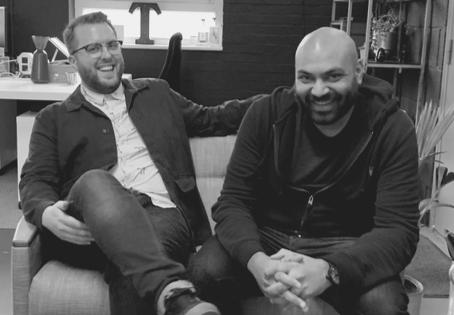 Meet Bridge & Tunnel's co-founders, Owen & Vijay