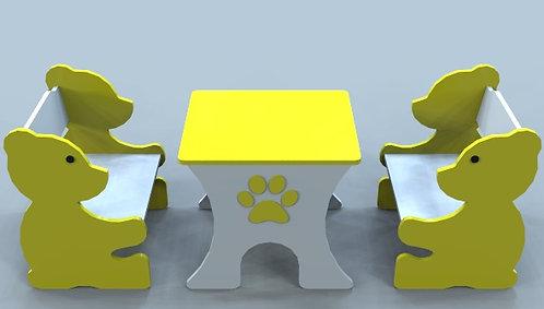 Çocuklar için masa sandalye